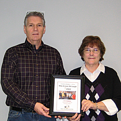 McVaughs receive Family Business Learning Community Builders Award