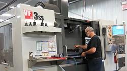 Specimen machining milling process