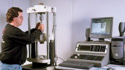 Metal testing for tensile strength