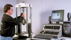 Metal testing for tensile strength