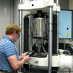 Elevated temperature tensile testing