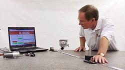 Laser on-site laser calibration