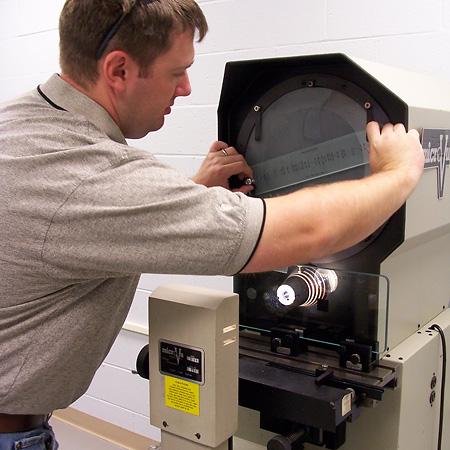Optical Camparator Calibration