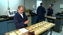 Metallurgical testing sample preparation