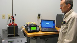 Temperature calibration lab