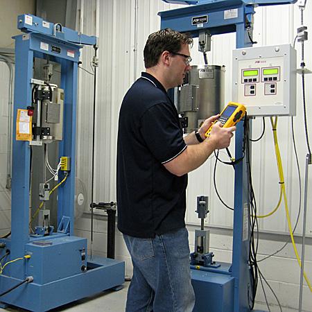 Controller & Sensor Calibration | Laboratory Testing Inc
