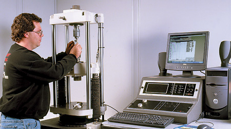 the tensile test experiment For analytical purposes, a plot of stress (σ) versus strain (ε) is constructed during a tensile test experiment, which can be done automatically on the software provided by the instrument manufacturer.