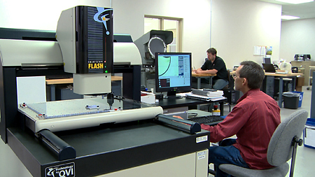 Dimensional inspection metrology services