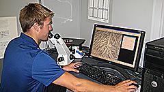 Materials testing digital imaging