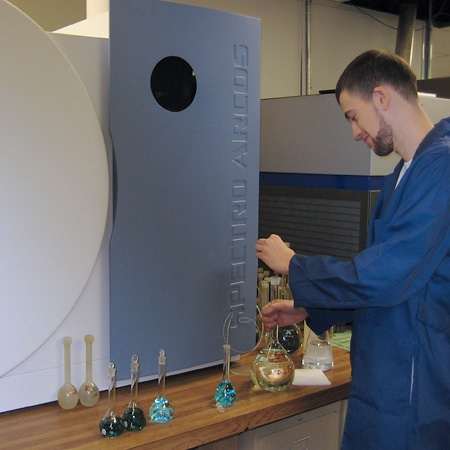 Spectroscopy for determining elemental concentrations