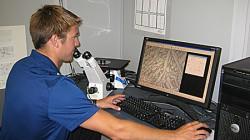 Material testing digital imaging