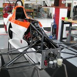 NDT testing race car parts