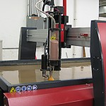 waterjet for specimen machining