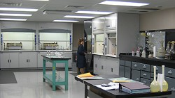 Wet chemistry lab